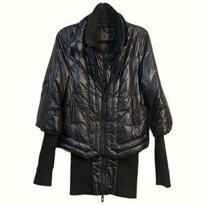 Faith Connextion Double Zip Puffer Jacket Dress